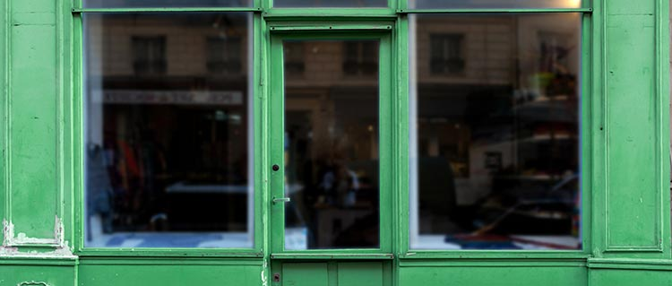 devis vitrine de magasin
